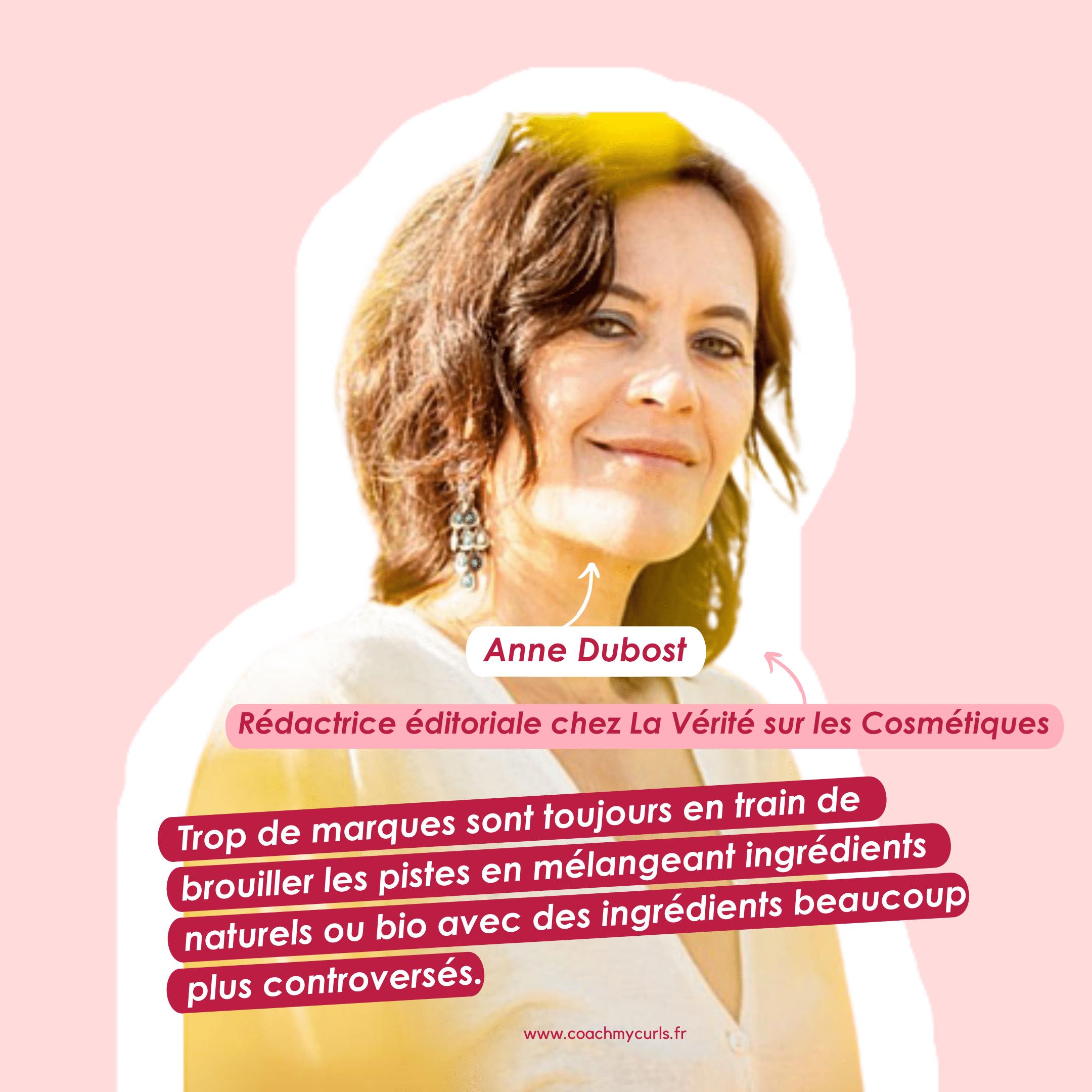 Anne Dubost nous livre sa vérité sur les cosmétiques
